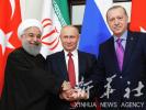 """俄土伊三国总统""""握手言欢""""签协议 叙利亚表欢迎"""