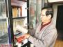 教授来洛任教带5吨书 数十年藏书捐城市书房