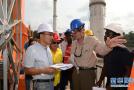 喀麦隆曼维莱水电站主体验收