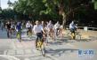 低碳环保又浪漫时尚 保定清苑50辆共享单车接新娘