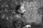 爱因斯坦逝世63周年:骨灰撒空中 240片大脑切片被秘密保存