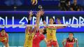 中国女排3:0胜俄罗斯 获世界排球联赛首胜