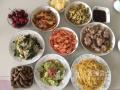 炖羊排、大虾、大樱桃…高考第一餐 吃得像过年!