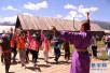 今年夏天喀纳斯景区提前进入旅游旺季