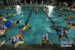 廊坊安次:学生快乐增强游泳技能 这个暑假安全过