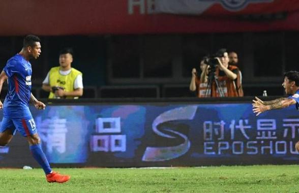 足球——中超:河南建业平上海申花