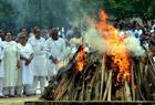 印度前总理国葬