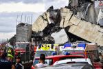 意大利为公路桥坍塌遇难者举行国葬 遇难者人数升至43人
