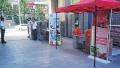 郑州一小区俩物业大门口设俩收费台 业主生活不安生