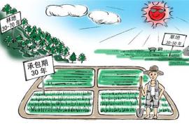 土地承包法修正案草案二審 明確保護土地經營權流轉