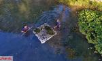 洛阳野趣水景园的保洁:一湖碧水 他们守护