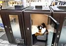 日本車站臨時工作亭