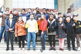 漯河市高校首次招收外国留学生