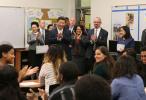 第一报道 | 在海外,习主席听孩子们唱诵过这些中文诗、中文歌