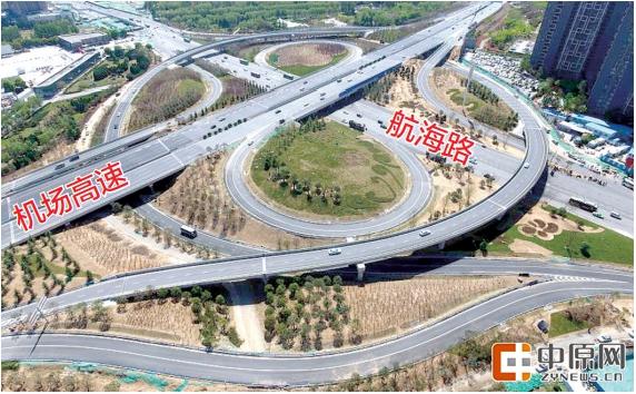 高速公路航海路互通式立交改建工程项目部得到消息,该工程已于日