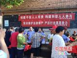 南乐县司法局副局长王可芳基层联系点顶岗
