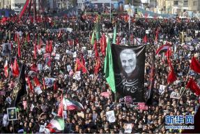 伊朗苏莱曼尼葬礼踩踏事件死亡人数升至56人
