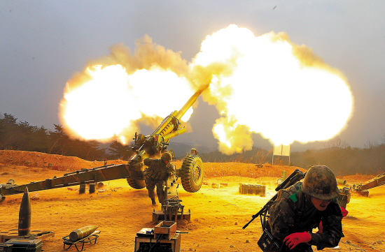 朝韩在边境地区互射炮弹 朝鲜否认开火