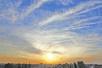一场西北风带来了蓝天好空气 郑州未来几天天气晴朗