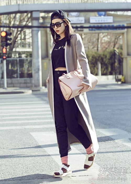 小宋佳冬季穿衣搭配 跟她学变时髦