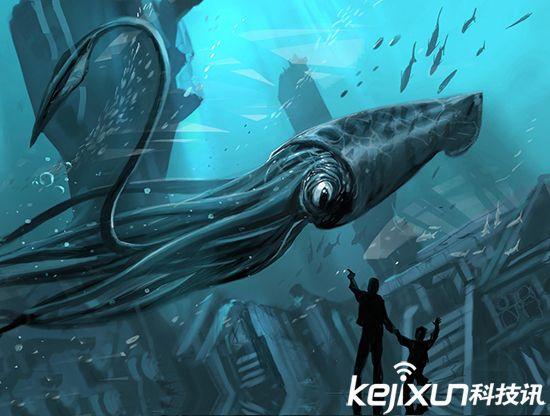 鱿鱼是世界上最大的动物之一
