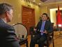 外交部新闻司长陆慷接受美媒英文专访: