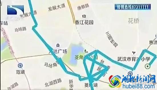 手机 武汉/车子一直在台北路附近打转转!