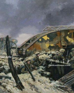 揭秘百年坦克战