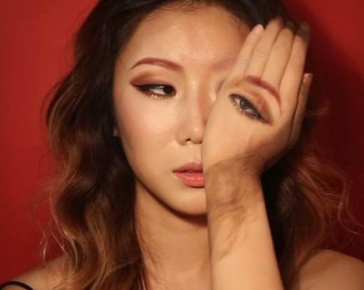 这位韩国妹子的化妆术会让你怀疑现实