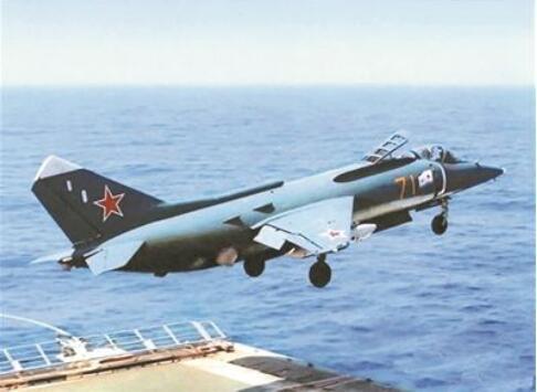 图:前苏联雅克38垂直起降战斗机