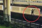 一男子突然跳轨自杀