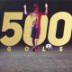 梅西巴萨500球