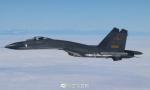 """中国空军""""绕岛巡航"""""""