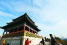 畅享北京的蓝天白云