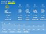 12月20日洛阳晴天 气温-4℃到11℃