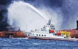 """监测显示""""桑吉""""轮沉没海域溢油面积有所扩大"""
