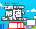 中国哪个城市最堵?你的城市上榜了吗?