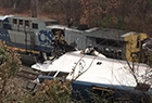 美国发生列车相撞