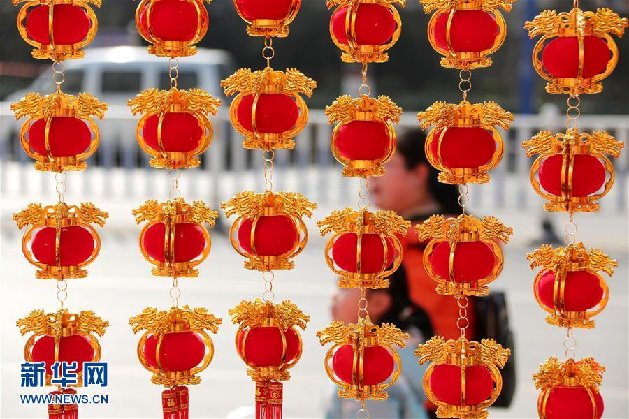 山东沂南:中国红喜迎新