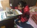 高位截瘫10年 金华浦江这个14岁的女孩有个画家梦