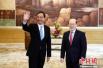 新任国台办主任刚刚履新 会见台湾新北市长朱立伦都谈了啥?