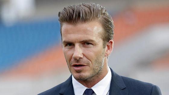 前英格兰足球国家队队长大卫·贝克汉姆(图片来源:NBC)-贝克汉