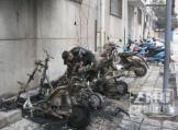 飞线充电又惹祸!郑州中原区4辆电动车被烧毁