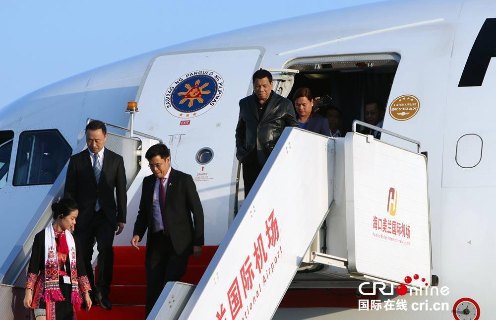杜特尔特:菲律宾比任何人都更需要中国 中国很有钱
