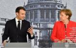 马克龙访问德国欲推欧元区改革 默克尔迟疑