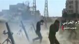 叙军炮击首都南郊武装分子据点