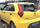 西安40辆轿车被砸