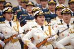 国事访问欢迎仪式推出改革新举措 女兵方阵首次亮相