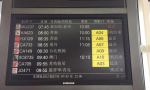 杭州萧山机场启动III级响应 55趟航班延误超1小时