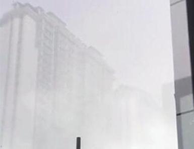 """高楼悬空!哈尔滨出现""""海市蜃楼""""现象"""